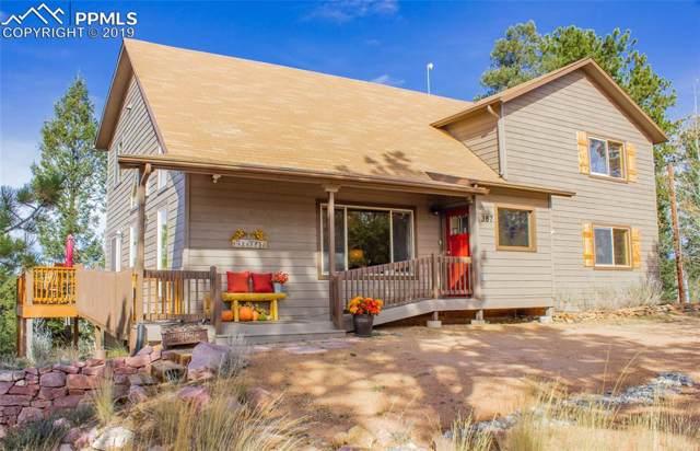 387 Cottonwood Lake Drive, Divide, CO 80814 (#6671630) :: The Kibler Group