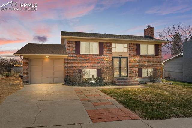 1323 Kingsley Drive, Colorado Springs, CO 80909 (#6700660) :: The Kibler Group