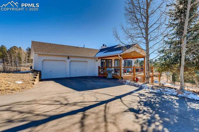 155 Apache Trail, Woodland Park, CO 80863 (#6702945) :: Tommy Daly Home Team
