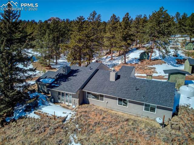 935 Conestoga Creek Road, Florissant, CO 80816 (#6703645) :: 8z Real Estate