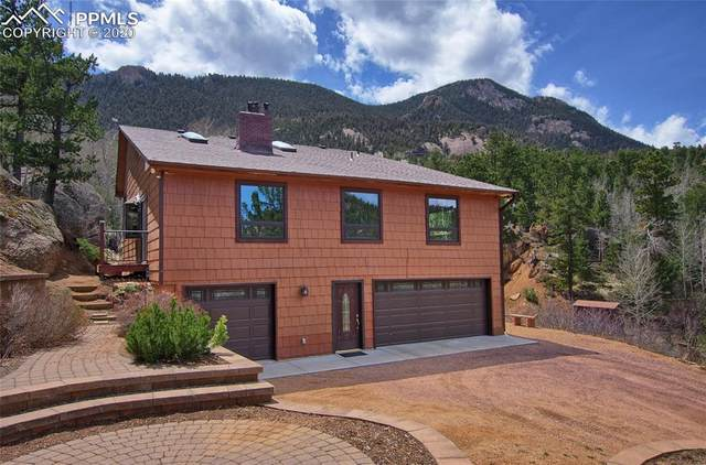5865 Waterfall Loop, Manitou Springs, CO 80829 (#6707445) :: CC Signature Group