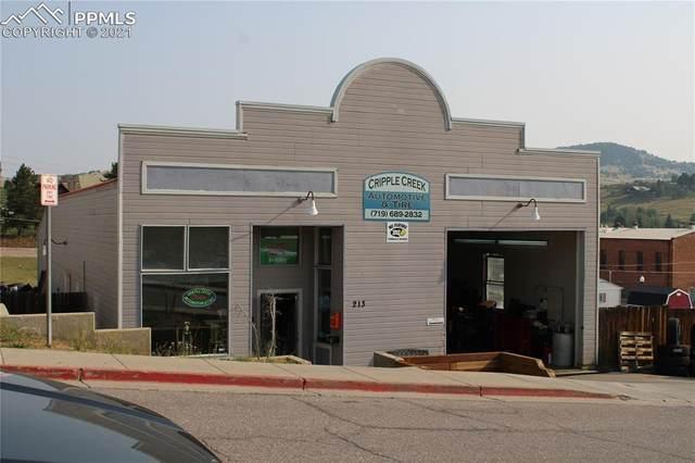 213 W Masonic Avenue, Cripple Creek, CO 80813 (#6734162) :: Action Team Realty