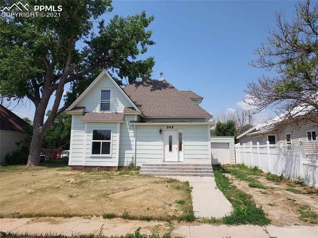 545 E Avenue, Limon, CO 80828 (#6738777) :: Simental Homes | The Cutting Edge, Realtors