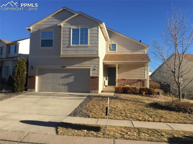 5533 Prairie Schooner Drive, Colorado Springs, CO 80923 (#6744737) :: The Hunstiger Team