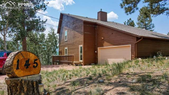 145 Aspen Drive, Woodland Park, CO 80863 (#6788343) :: Colorado Home Finder Realty