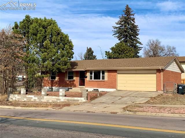 1350 Verde Drive, Colorado Springs, CO 80910 (#6797851) :: The Treasure Davis Team