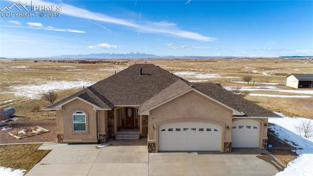 12980 Soap Weed Road, Calhan, CO 80808 (#6838342) :: The Treasure Davis Team