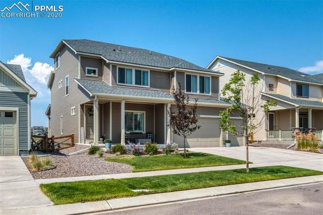 8651 Tranquil Knoll Lane, Colorado Springs, CO 80927 (#6886853) :: Finch & Gable Real Estate Co.