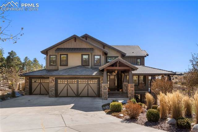 17552 Cabin Hill Lane, Colorado Springs, CO 80908 (#6900877) :: The Hunstiger Team