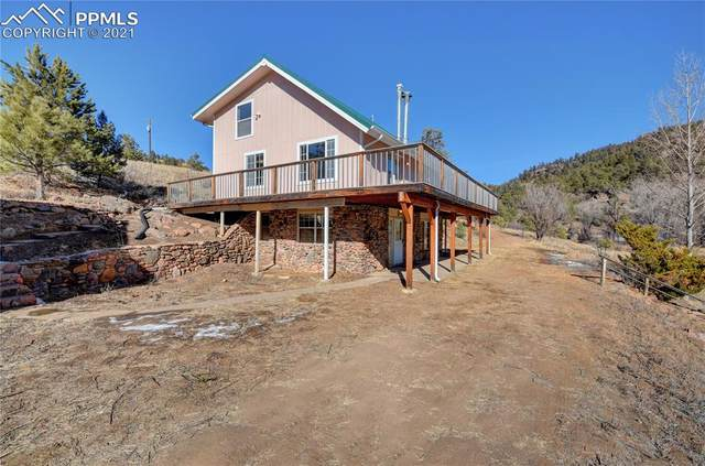 3573 Lakemoor Drive, Florissant, CO 80816 (#6900913) :: The Kibler Group