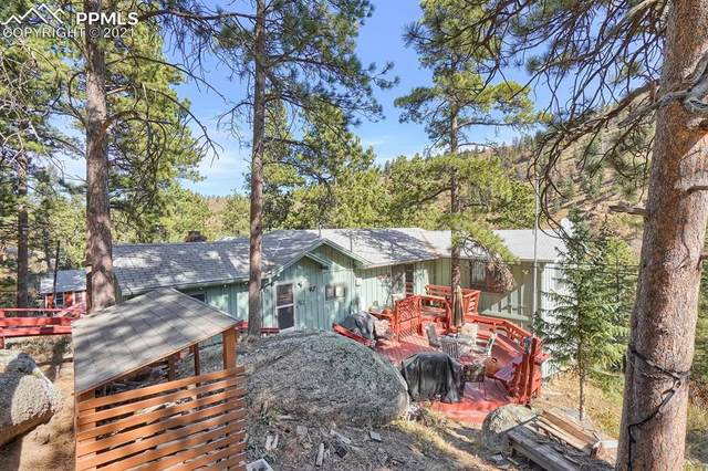 6470 Spruce Avenue, Green Mountain Falls, CO 80819 (#6902074) :: Tommy Daly Home Team