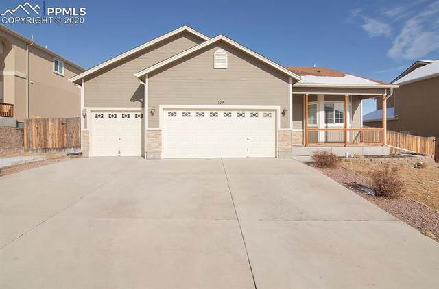 719 Seawell Drive, Colorado Springs, CO 80911 (#6954153) :: Tommy Daly Home Team