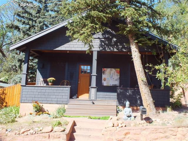 115 Cave Avenue, Manitou Springs, CO 80829 (#6966411) :: The Peak Properties Group