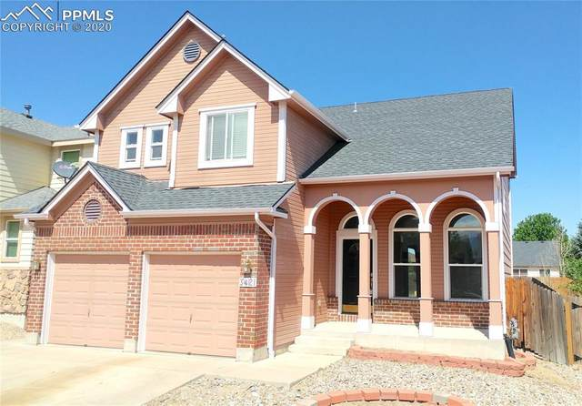 3421 Viero Drive, Colorado Springs, CO 80916 (#6969456) :: 8z Real Estate