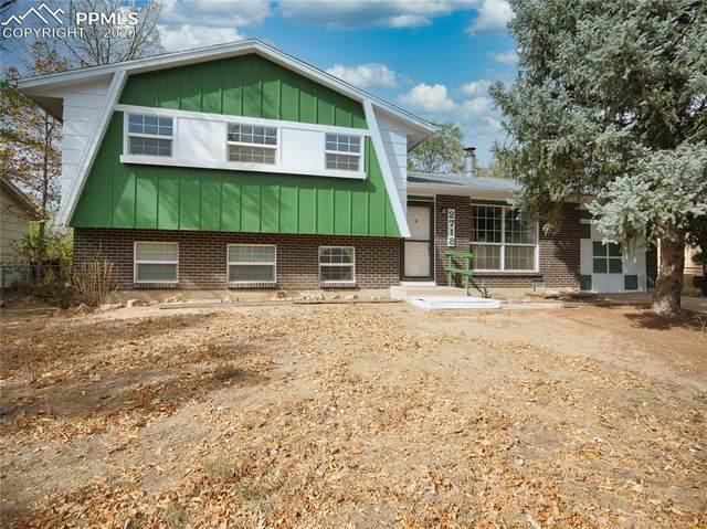 2718 Ferber Drive, Colorado Springs, CO 80916 (#6987498) :: The Treasure Davis Team
