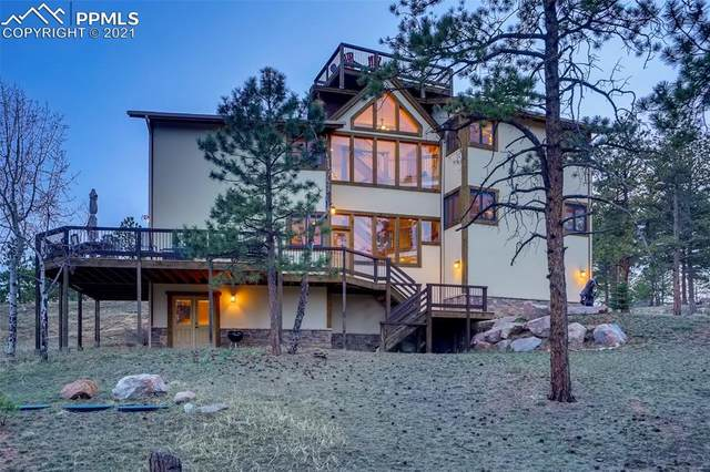 229 Mohawk Trail, Pine, CO 80470 (#7015275) :: The Artisan Group at Keller Williams Premier Realty