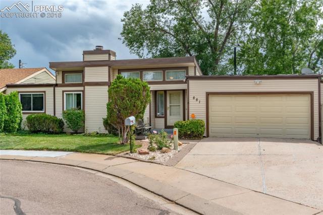 881 San Antonio Place, Colorado Springs, CO 80906 (#7019818) :: Jason Daniels & Associates at RE/MAX Millennium