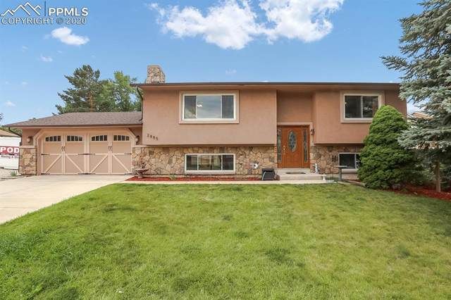2885 Vickers Drive, Colorado Springs, CO 80918 (#7040701) :: Tommy Daly Home Team