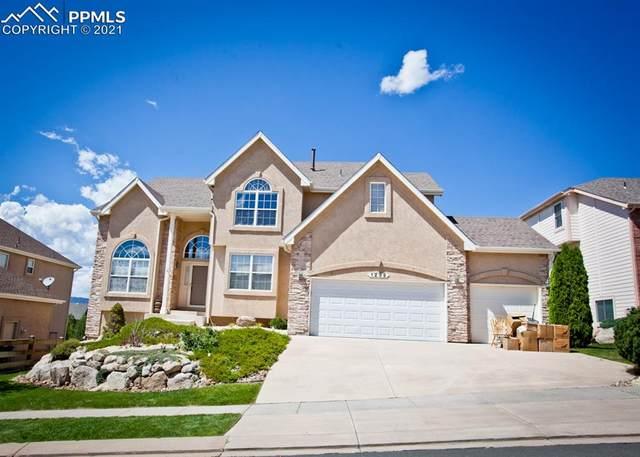 1232 Castle Hills Place, Colorado Springs, CO 80921 (#7058914) :: The Dixon Group