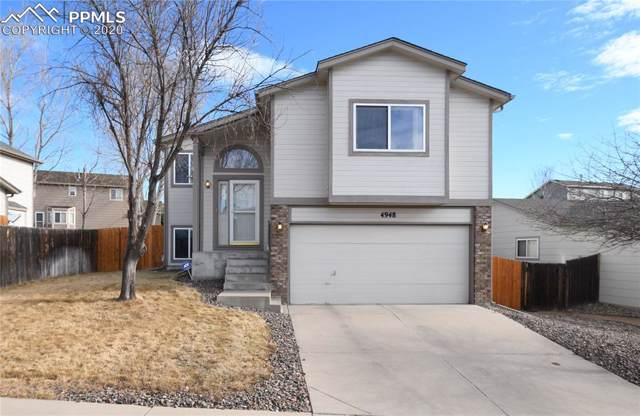 4948 Hawk Springs Drive, Colorado Springs, CO 80923 (#7103751) :: The Hunstiger Team
