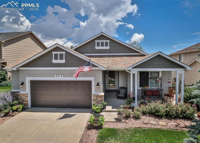 241 Talus Road, Monument, CO 80132 (#7180416) :: Harling Real Estate