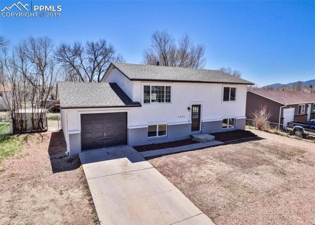 3605 Darkwood Place, Colorado Springs, CO 80910 (#7190765) :: The Hunstiger Team