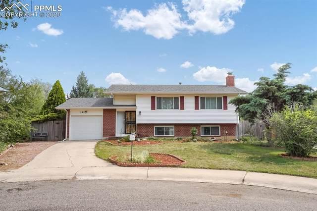 543 Bickley Circle, Colorado Springs, CO 80911 (#7198506) :: The Treasure Davis Team