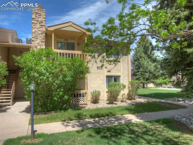 810 Tenderfoot Hill Road #204, Colorado Springs, CO 80906 (#7201658) :: Action Team Realty
