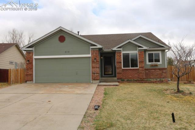 818 Marshall Drive, Fountain, CO 80817 (#7213481) :: CC Signature Group