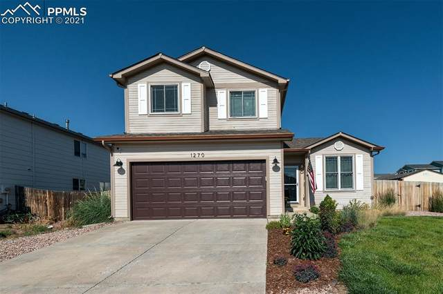 1270 Lords Hill Drive, Fountain, CO 80817 (#7223358) :: Springs Home Team @ Keller Williams Partners