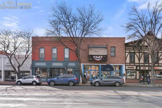 2411 W Colorado Avenue #204, Colorado Springs, CO 80904 (#7241838) :: The Treasure Davis Team