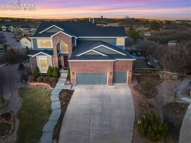 954 Kettle Rock Court, Colorado Springs, CO 80921 (#7265941) :: Tommy Daly Home Team