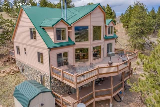 758 Castle Mountain Drive, Florissant, CO 80816 (#7287741) :: The Kibler Group