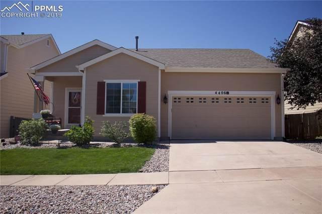 4406 Crow Creek Drive, Colorado Springs, CO 80922 (#7292326) :: The Treasure Davis Team