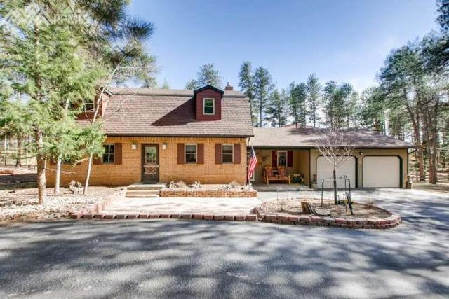 427 W Lovell Gulch Road, Woodland Park, CO 80863 (#7300558) :: Jason Daniels & Associates at RE/MAX Millennium
