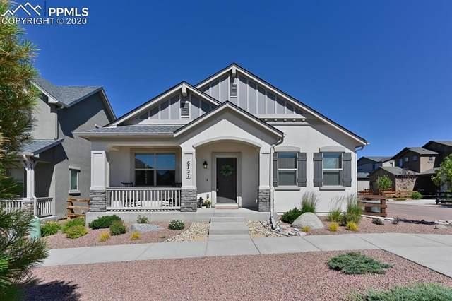 6727 Lucky Star Lane, Colorado Springs, CO 80923 (#7349934) :: The Kibler Group