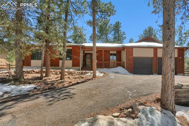 2720 Sunnywood Avenue, Woodland Park, CO 80863 (#7358525) :: The Gold Medal Team with RE/MAX Properties, Inc