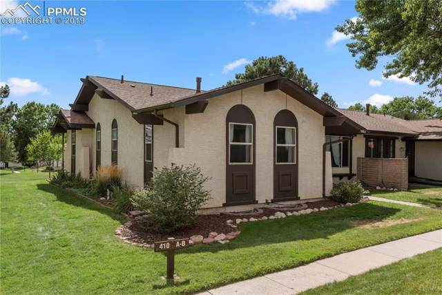 410 Valley Hi Circle A, Colorado Springs, CO 80910 (#7366730) :: Jason Daniels & Associates at RE/MAX Millennium