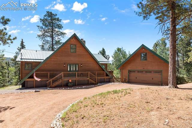 134 Ridge Road, Divide, CO 80814 (#7371102) :: Tommy Daly Home Team
