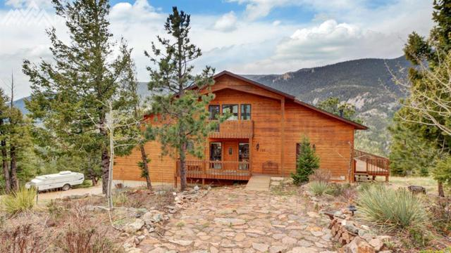 520 Sunrise Peak Road, Manitou Springs, CO 80829 (#7387161) :: Action Team Realty