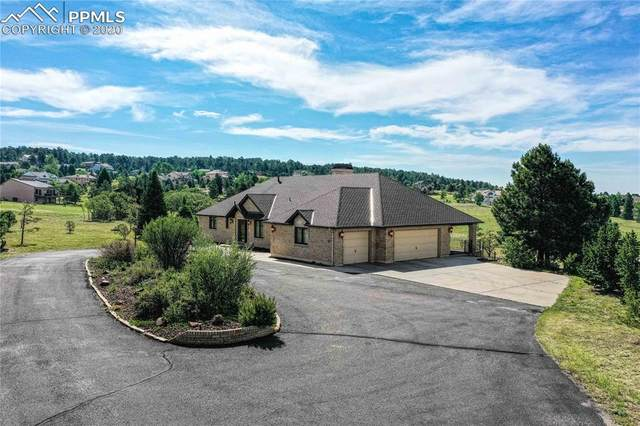 1099 W Caribou Drive, Monument, CO 80132 (#7392467) :: Action Team Realty