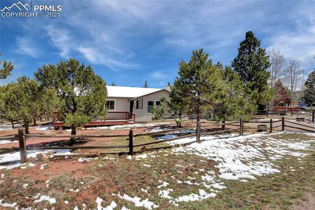 845 W Northwoods Drive, Woodland Park, CO 80863 (#7404511) :: Finch & Gable Real Estate Co.