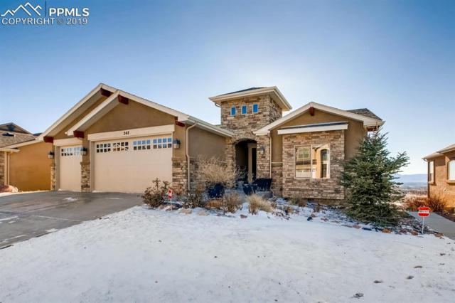 248 Coyote Willow Drive, Colorado Springs, CO 80921 (#7405621) :: The Daniels Team