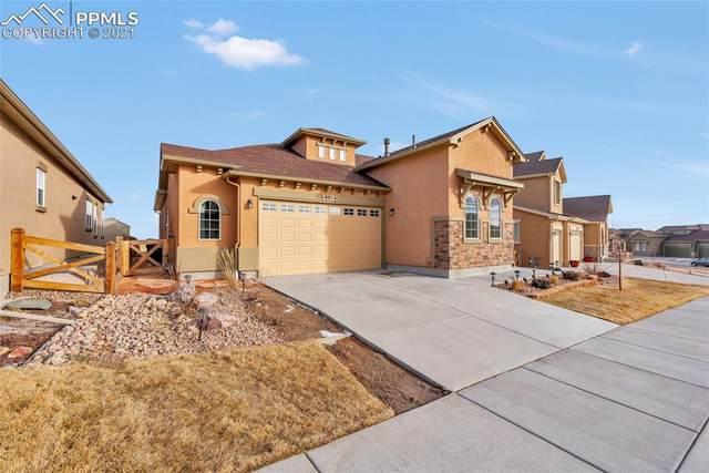 9014 Pacific Crest Drive, Colorado Springs, CO 80927 (#7419834) :: The Scott Futa Home Team