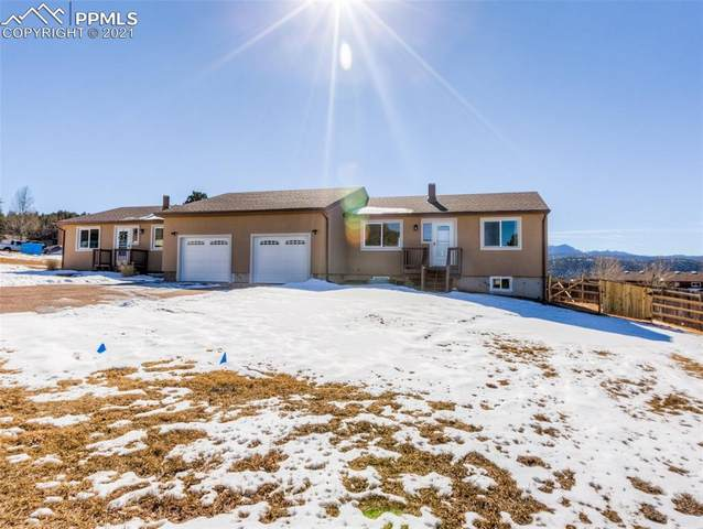 1003 Mountain View Road, Woodland Park, CO 80863 (#7425518) :: The Harling Team @ HomeSmart