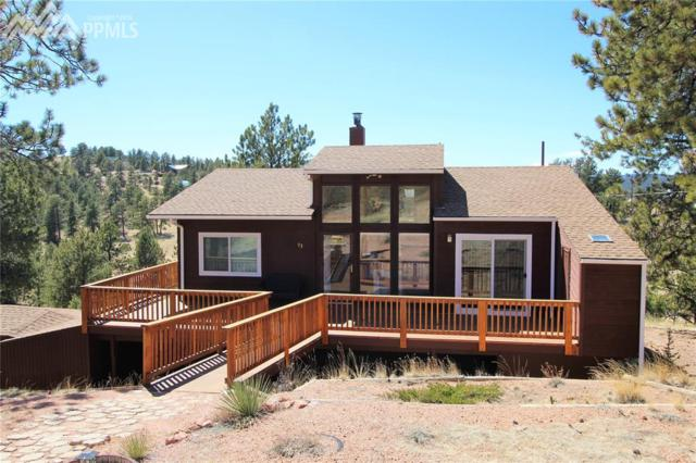 93 Kendell Circle, Florissant, CO 80816 (#7470466) :: Action Team Realty
