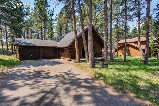 567 W Lovell Gulch Road, Woodland Park, CO 80863 (#7502533) :: Action Team Realty
