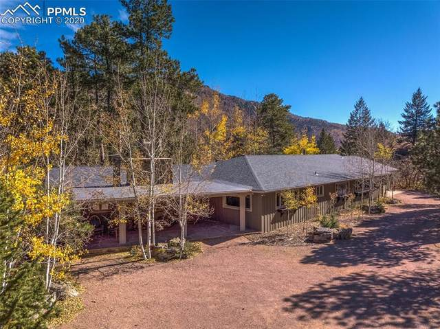 9005 Ute Road, Cascade, CO 80809 (#7513074) :: The Treasure Davis Team