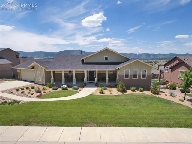 734 Woodmoor Acres Drive, Monument, CO 80132 (#7520386) :: The Hunstiger Team