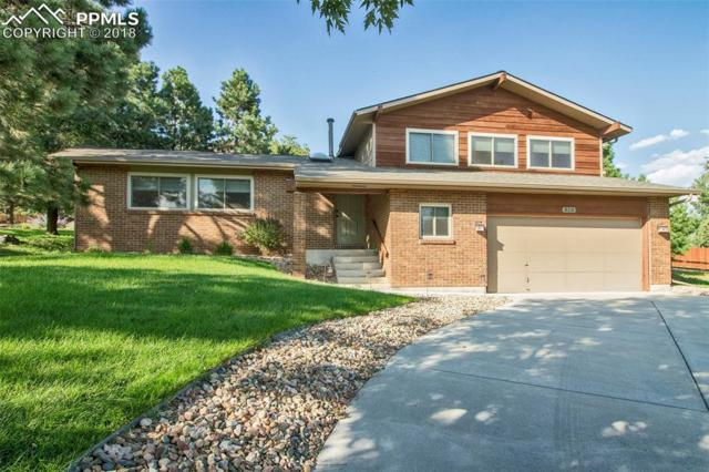818 Allegheny Drive, Colorado Springs, CO 80919 (#7558122) :: Action Team Realty